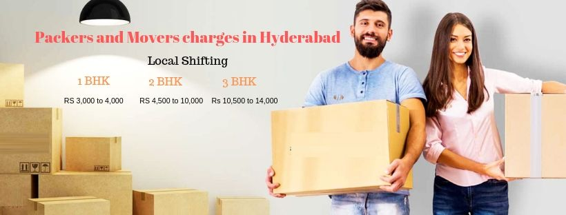 packers and movers charges in Hyderabad